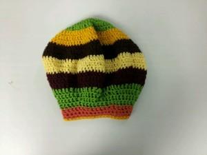 rasta hat (crochet)