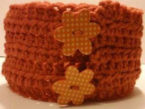 crochet collar update